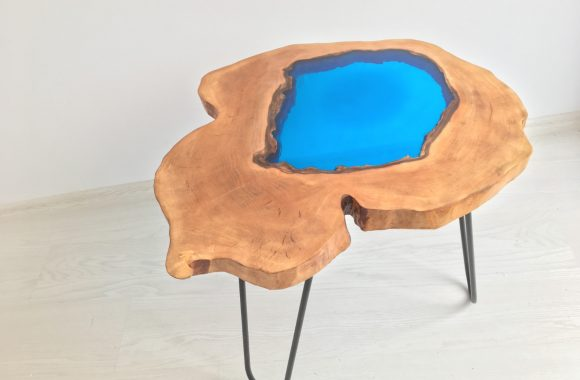 resin epoxy cofee table
