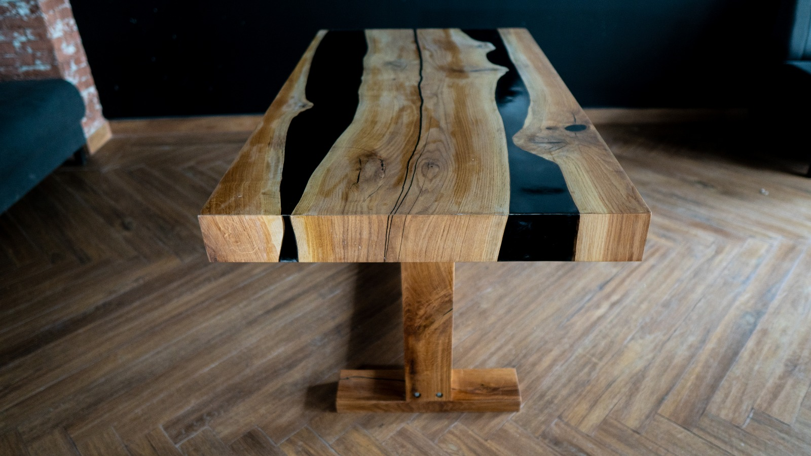 Epoxy Resin And Wood Furniture